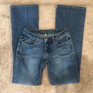 Bebe Jeans with Embellished Pockets